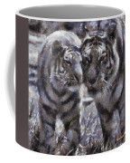 Tigers Photo Art 02 Coffee Mug
