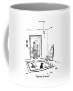 Tightening The Buttocks Coffee Mug