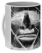 Tiki Mask Negative Coffee Mug