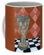 Tiki Statue Art Coffee Mug
