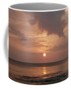 Tiki Sunset 2 Coffee Mug