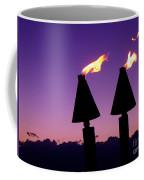 Tiki Torches Coffee Mug