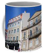 Tiled Building In Chiado District Of Lisbon Coffee Mug