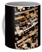 Tilted Coffee Mug
