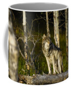 Timber Ghost Wolf Coffee Mug
