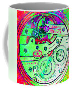 Time In Abstract 20130605m72 Square Coffee Mug