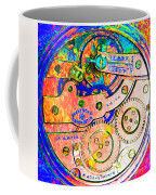 Time In Abstract 20130605p180 Square Coffee Mug