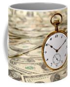 Time Is Over Money Coffee Mug