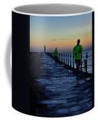 Time Lapse Runner Coffee Mug