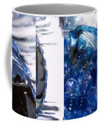 Time Line In Blue Coffee Mug