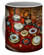 Time - Pocket Watches  Coffee Mug by Paul Ward