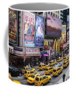 Time Square On A Week Day Coffee Mug