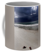 Time To Go Coffee Mug by Karen Wiles
