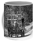 Time Travelers Bw Coffee Mug