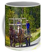Time Travelers Coffee Mug
