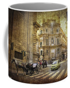 Time Traveling In Palermo - Sicily Coffee Mug by Madeline Ellis