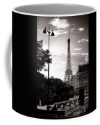 Timeless Eiffel Tower Coffee Mug by Olivier Le Queinec