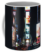 Times Square At Night Coffee Mug