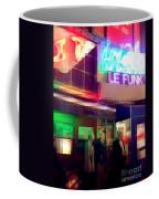 Times Square At Night - Le Funk Coffee Mug