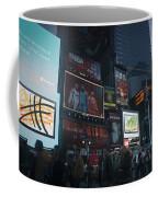 Times Square At Night Coffee Mug