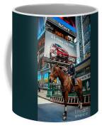 Times Square Horse Power Coffee Mug
