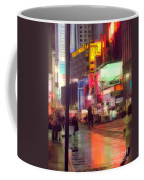 Times Square With Runaway Horse Coffee Mug