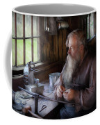 Tin Smith - Making Toys For Children Coffee Mug by Mike Savad