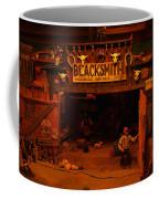 Tinkertown Blacksmith Shop Coffee Mug by Jeff Swan