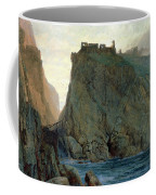 Tintagel On The Cornish Coast Coffee Mug