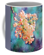 Tiny Spring Tree Blooms - Digital Color Change And Paint Coffee Mug
