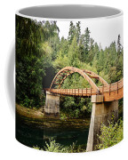 Tioga Bridge Over North Umpqua River Coffee Mug
