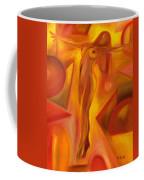 Tip-toeing Nude Coffee Mug