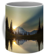 Tipsoo Rainier Sunstar Coffee Mug