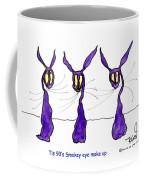 Tis 90's Smokey Eye Make Up Coffee Mug