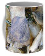 Tissue Paper Petals Coffee Mug