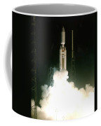 Titan Iv-b Launch Coffee Mug