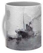 Titanic Leaving Southhampton Coffee Mug
