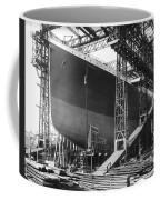 Titanic Under Construction Coffee Mug