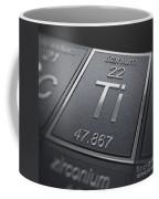 Titanium Chemical Element Coffee Mug