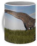 Titanosaurus Standing In Swamp Coffee Mug