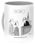 Dude Court Coffee Mug
