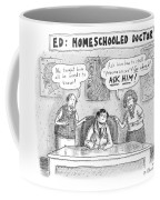 Title: Ed, The Home-schooled Doctor.  Two Parents Coffee Mug