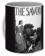 Title Page From The Savoy Coffee Mug by Aubrey Beardsley