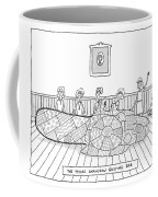 Title: The Texas Chainsaw Quilting Bee.a Group Coffee Mug