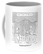 Title: What Celebrities Believe. A Celebrity Coffee Mug