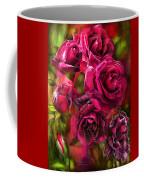 To Be Loved - Red Rose Coffee Mug