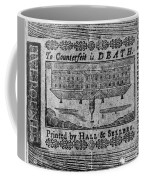 'to Counterfeit Is Death Coffee Mug