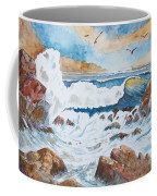 To Rough For Fishing Coffee Mug
