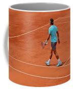 Rafael Nadal To The Baseline Coffee Mug