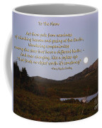 To The Full Moon Coffee Mug